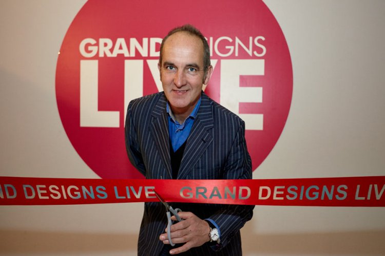 Grand Designs Live is hosted by Kevin McCloud