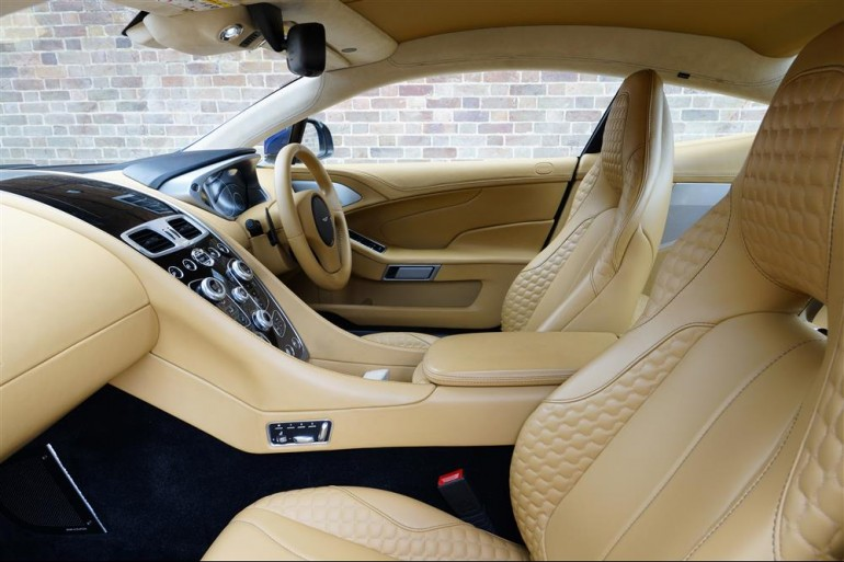 The interior is the most luxurious to date