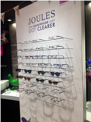 Joules launched their new range at a party held at the Vision Express flagship store