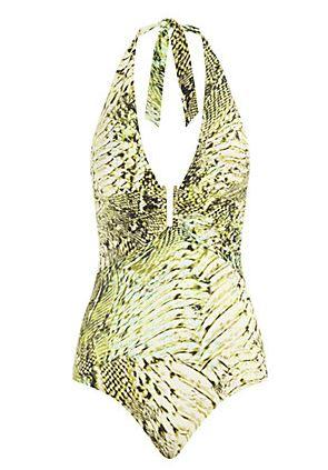 Heidi Klein Zambia U-Bar Halter Swimsuit £190