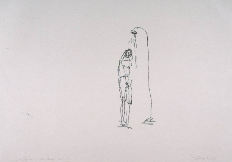 Sad Shower in New York 1995 by Tracey Emin born 1963