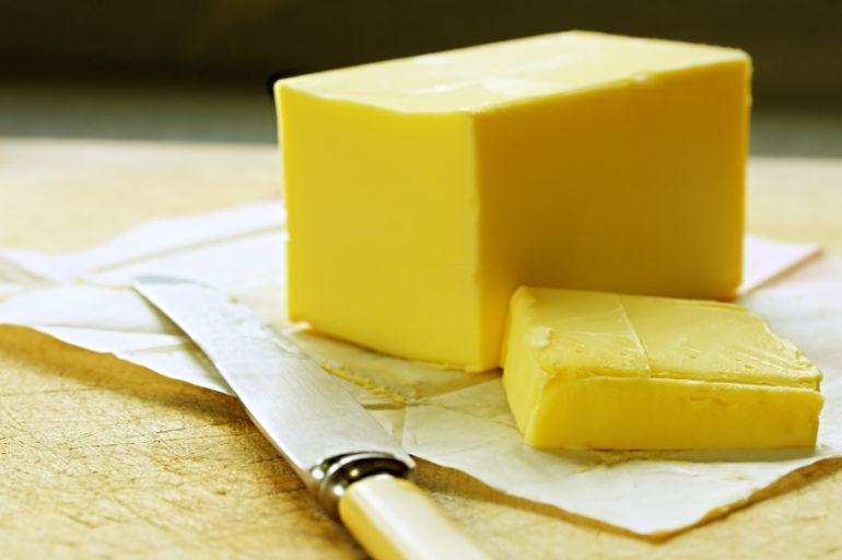Bin the butter