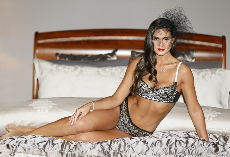 Lynn Kelly models the Arnotts collection: Bra, Mimi Holliday, €69 Brief, Mimi Holliday, €49