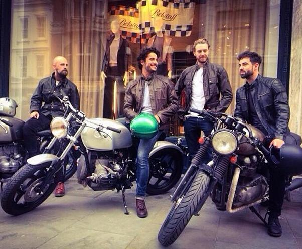 Belstaff bikers begin 'Back to our Routes'