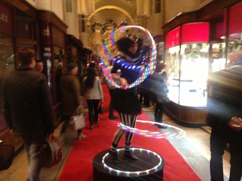 Burlington Arcade Christmas Lights Event