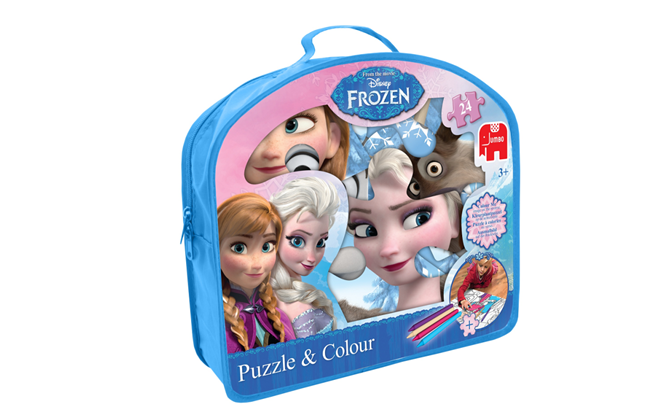 The Disney Frozen Puzzle & Colour is £9.99 and suitable for ages 3+