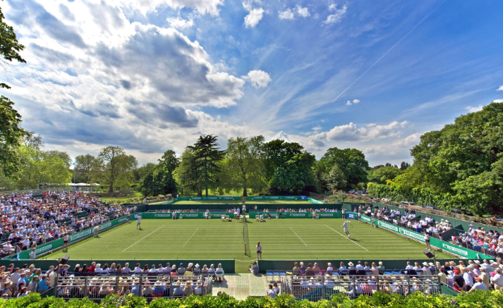 Centre Court at the Hurlingham Club
