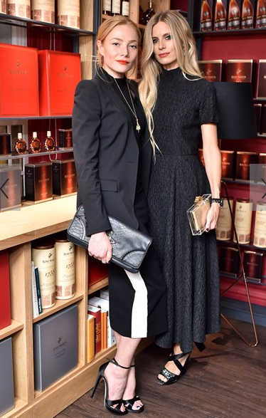 Clara Paget and Laura Bailey attended the event