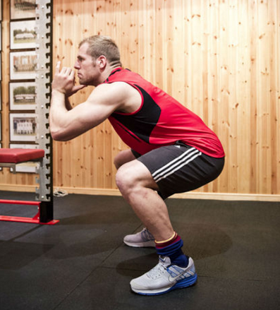 James Haskell: Muscle building without a gym membership