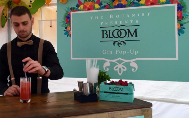 The BLOOM Gin pop up