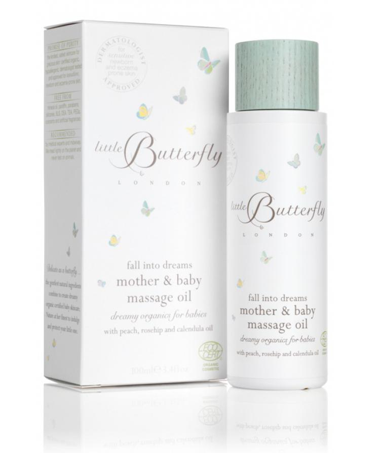 The Little Butterfly Massage Oil