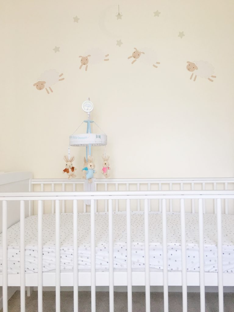 The Baby Elegance cot in it's new home