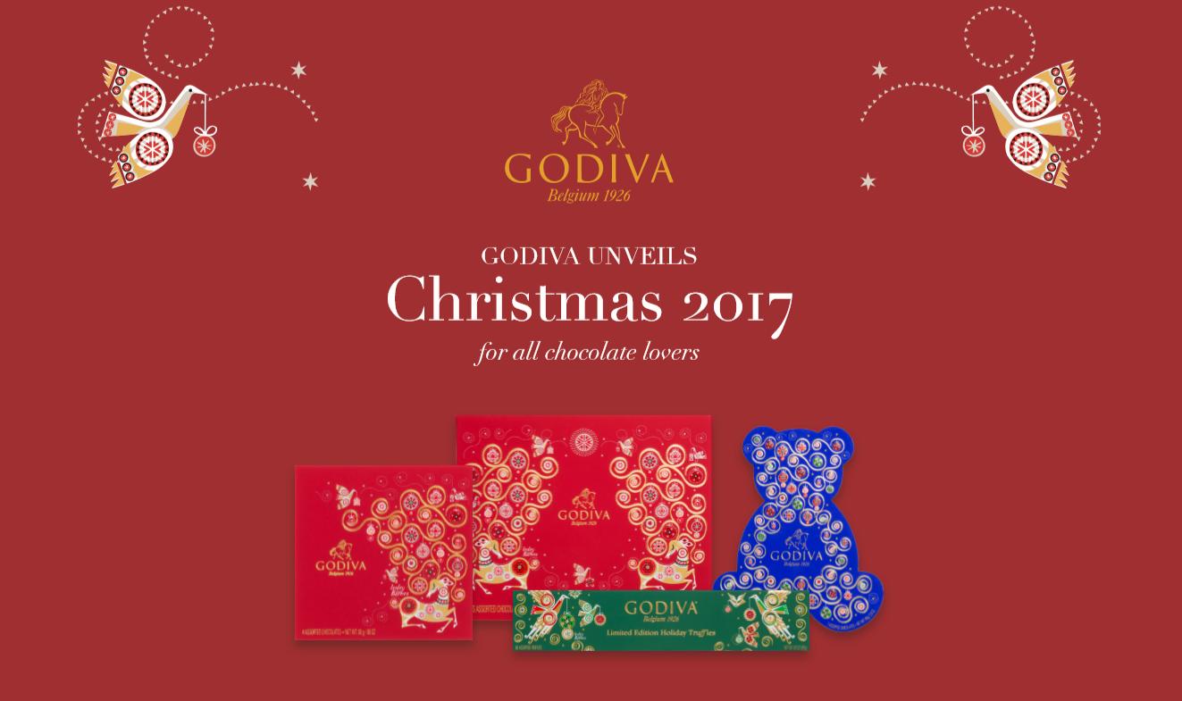 Godiva Advent Calendar.The Godiva Advent Calendar Is A Dream For Chocoholics The Sloaney
