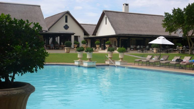 The Pool at the Royal Livingstone Hotel